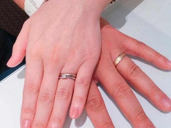 奈良県  ORECCHIO(オレッキオ)の婚約指輪 FISCHER(フィッシャー)の結婚指輪