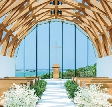 大阪のサプライズプロポーズ 瀬良垣島教会