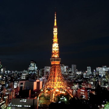 大阪のサプライズプロポーズ 東京タワー