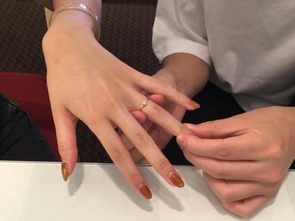 シェールラブの婚約指輪(熊取町)