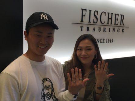 和歌山県紀の川市  FISCHERの結婚指輪