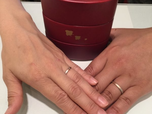 大阪府泉佐野市  和ブランド【ひな】の結婚指輪