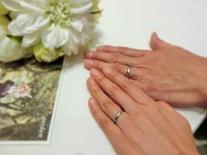 担当スタッフの結婚指輪のブランドに対する熱い思いが素晴らしかったです