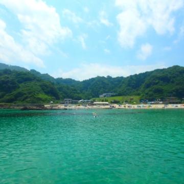大阪のサプライズプロポーズ 竹野浜海水浴場