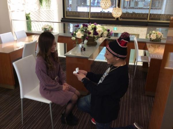 兵庫県 神崎郡 Quand de Mariageの結婚指輪とgardenオリジナル婚約指輪