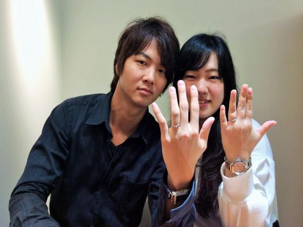 小野市 『ロゼット』結婚指輪をご成約いただきました