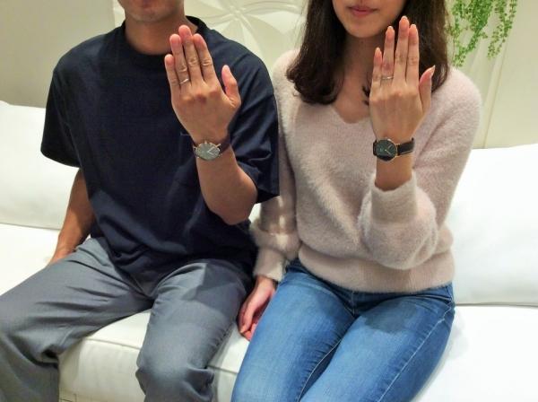 姫路市『CHERLUV結婚指輪、Only you婚約指輪』をご成約