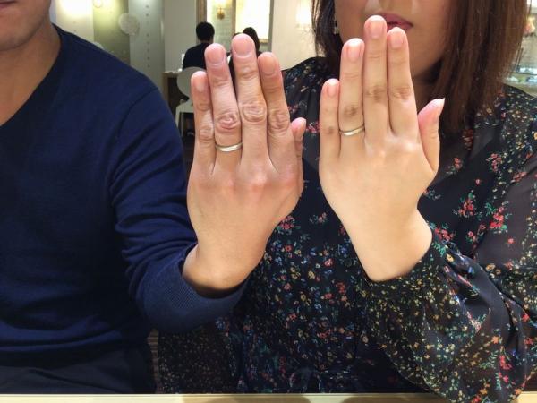 神崎郡福崎町『パイロットブライダル』の結婚指輪をご成約頂きました