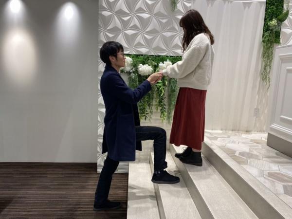 姫路市 gardenオリジナルの婚約指輪をご成約頂きました。