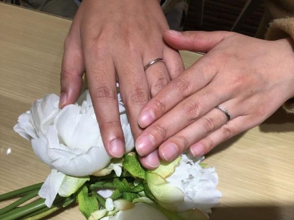姫路市・高砂市『et.lu』結婚指輪をご成約いただきました。