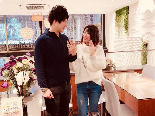 小野市『RosettE』結婚指輪をご成約いただきました。