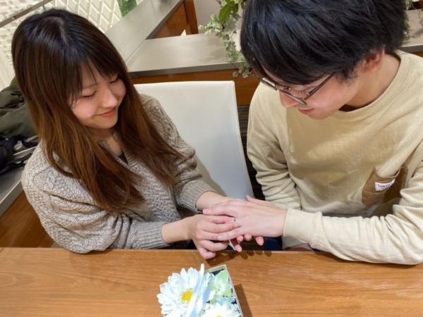 神戸市須磨区 FISCHERの結婚指輪をご成約頂きました。