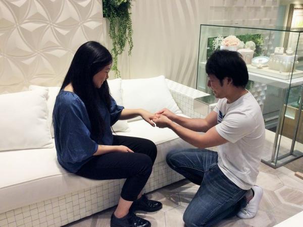 姫路市 et.luの結婚指輪をご成約頂きました。