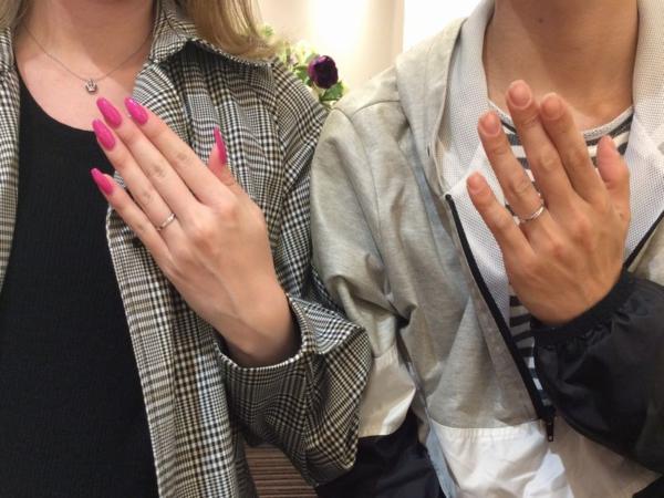 加古郡稲美町 Pulitoの結婚指輪をご成約頂きました。