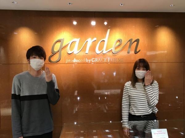 神戸市西区 PreuveとMilk&strawberryの結婚指輪をご成約頂きました。