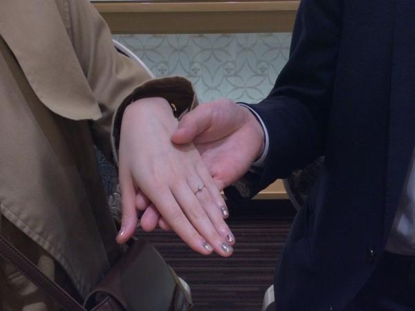 西宮市 gardenオリジナルの婚約指輪をご成約頂きました。