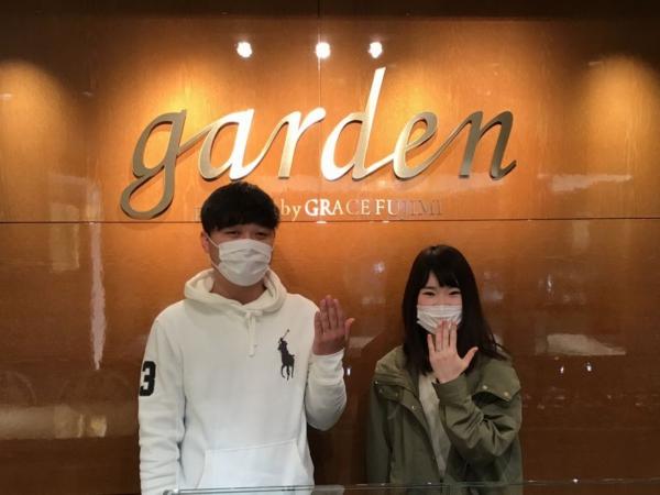 姫路市 Little gardenの婚約指輪をご成約頂きました。