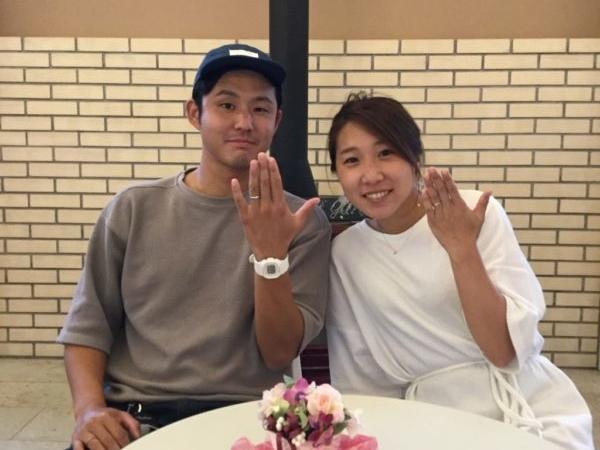ディズニーの結婚指輪(和泉市)
