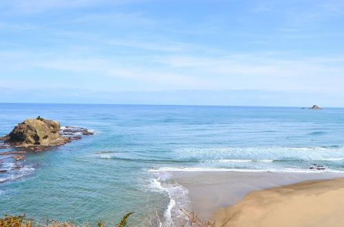鳥取でおすすめのプロポーズスポットで白兎海岸
