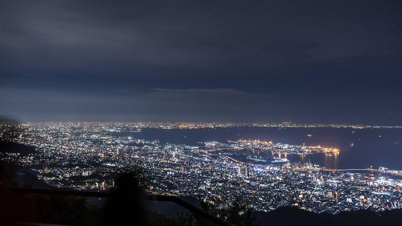 神戸・三ノ宮でおすすめのプロポーズスポットの摩耶山の夜景