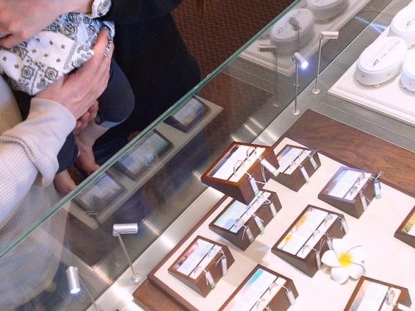 堺市北区 ハワイアンの結婚指輪