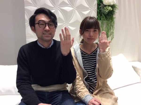 兵庫県 揖保郡 Quand de Mariageの結婚指輪