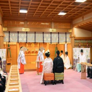 大阪のサプライズプロポーズ 大神神社