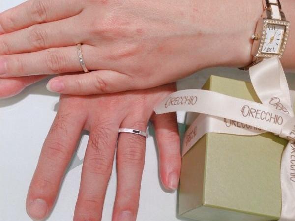 大阪和泉市オレッキオ(ORECHHIO)の結婚指輪