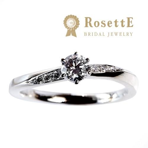 京都で人気な婚約指輪ロゼット