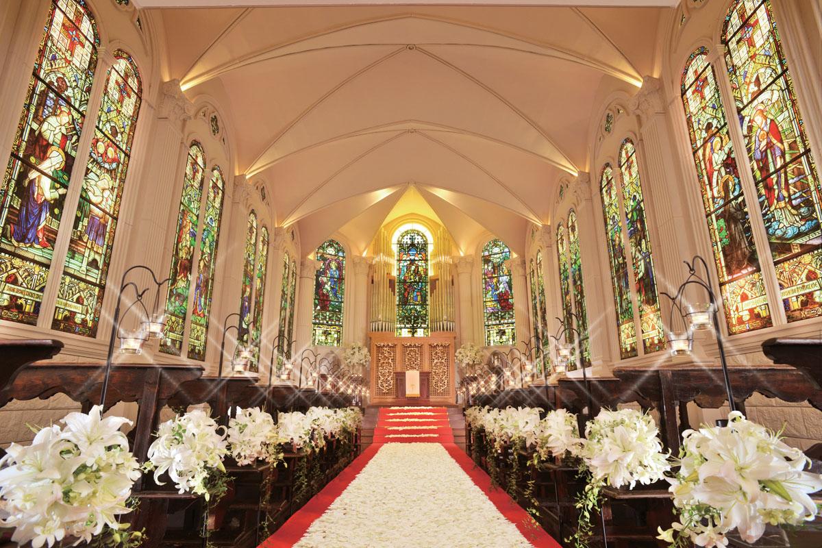 モンサンミッシェル大聖堂~ザ・ガーデンコートなんばぱーくす