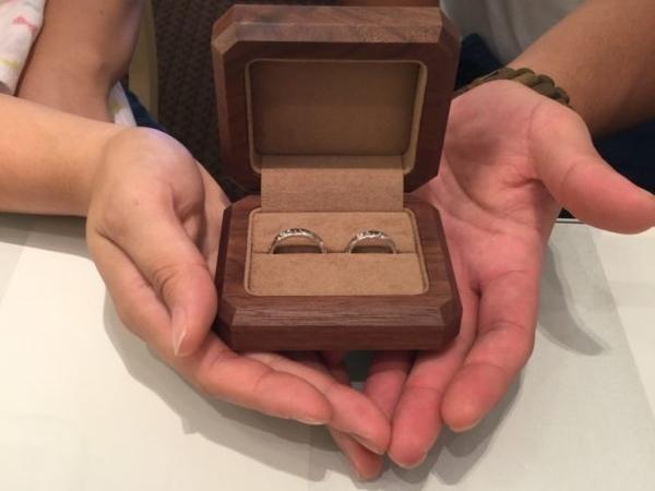 岸和田市 ハワイアンジュエリーマカナの結婚指輪