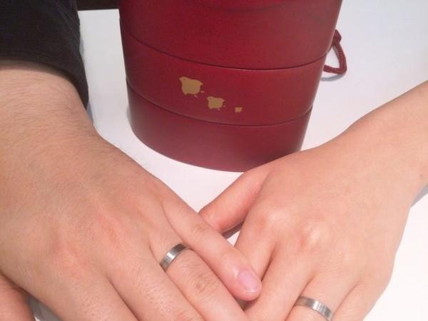 大阪府和泉市  ひなの結婚指輪