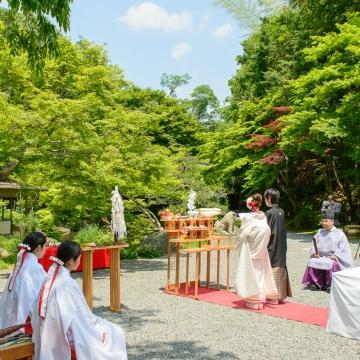 大阪のサプライズプロポーズ 東山山荘