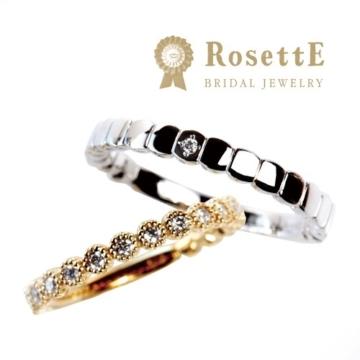 アンティーク調でインスタで人気のブランドRosettE(ロゼット)の婚約指輪Starry Sky(星空)4