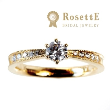 アンティーク調でインスタで人気のブランドRosettE(ロゼット)の婚約指輪Starry Sky(星空)