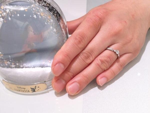 大阪府和泉市 DisneyFANTASIA婚約指輪