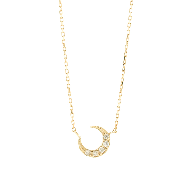 Crescent Moon Necklace~ムーンネックレス~