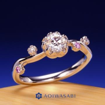 葵山葵で和風の婚約指輪の紹介のイメージ写真4