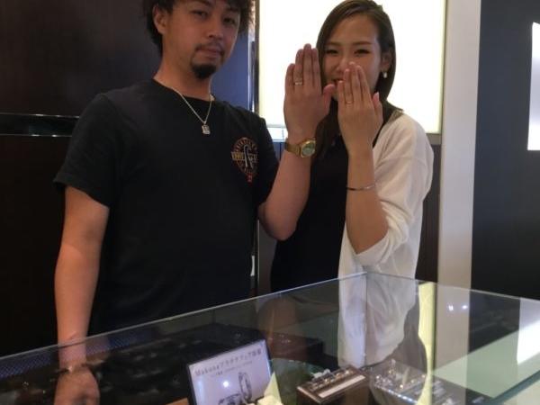 マカナの結婚指輪(藤井寺市)