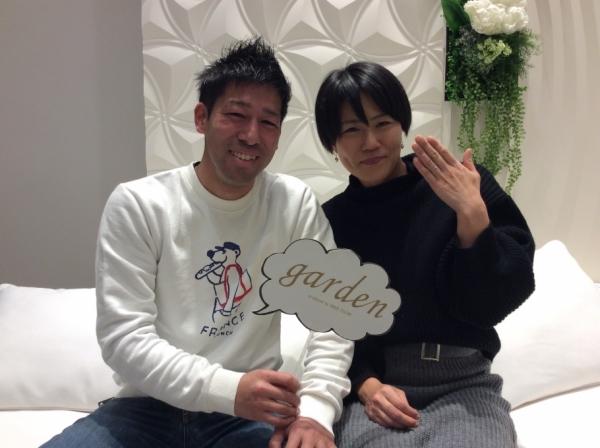 兵庫県 姫路市  LAPAGEの婚約指輪とFISCHERの結婚指輪