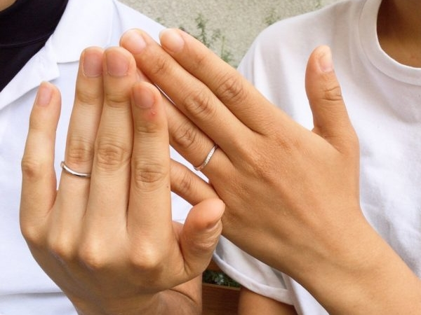 Pulitoの結婚指輪 大阪府岸和田市