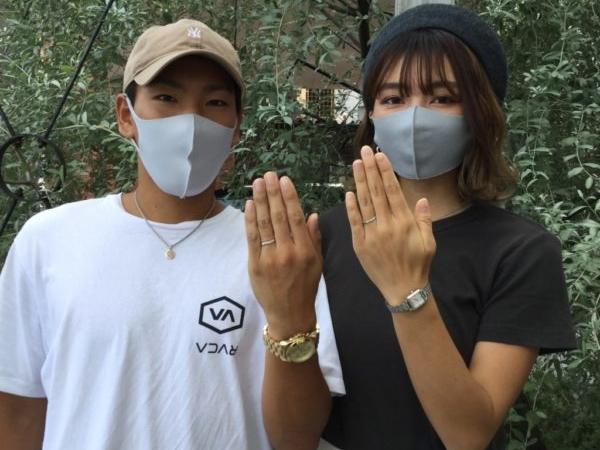 ハートアイランドの結婚指輪(大阪市港区)