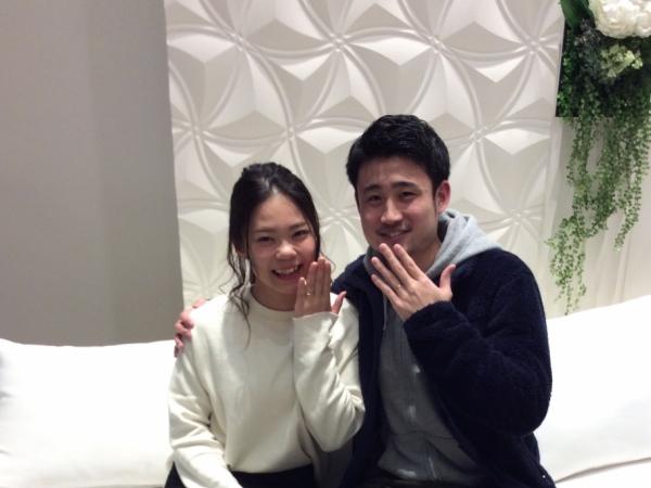 兵庫県 たつの市 LAPAGEの結婚指輪