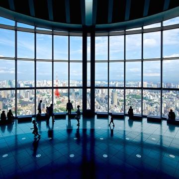大阪のサプライズプロポーズ 東京シティビュー