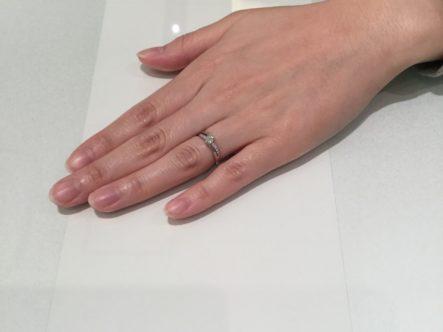 大阪府岸和田市 高品質ダイヤ Mariageent(マリアージュエント) の婚約指輪