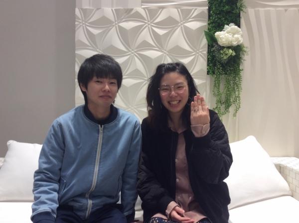 兵庫県 姫路市 gardenオリジナルの婚約指輪