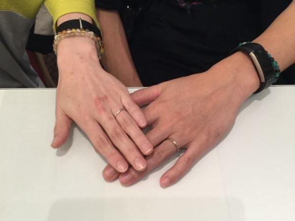 ラパージュの結婚指輪(和歌山市)