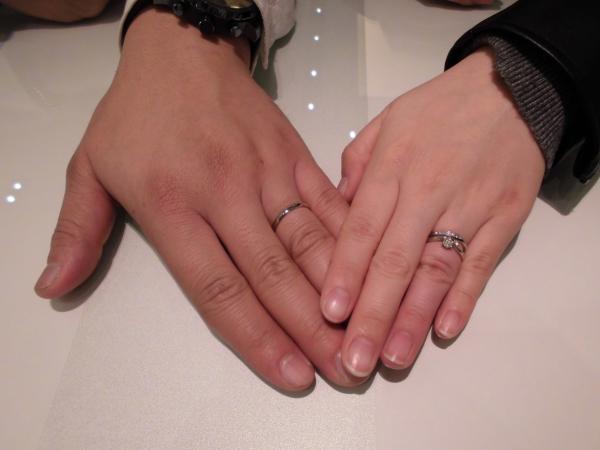 自分にぴったりな指輪