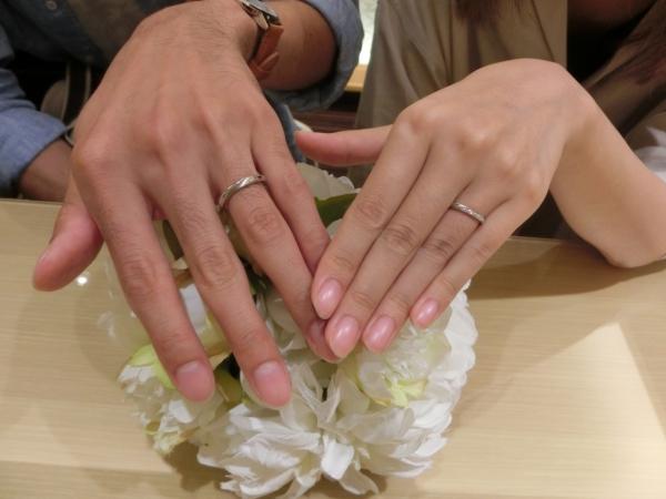 2人に合った指輪が見つかりました。