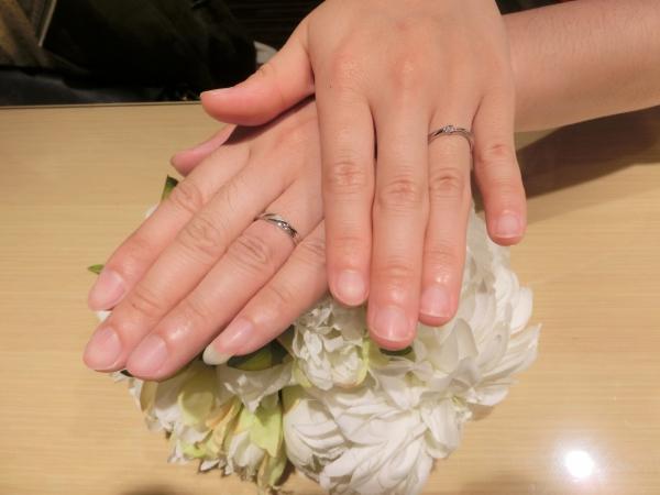 楽しい指輪選び